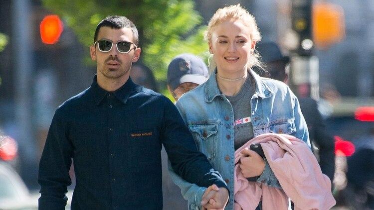 Sophie Turner y Joe Jonas se casarán este año tras dos años de noviazgo (Getty Images)