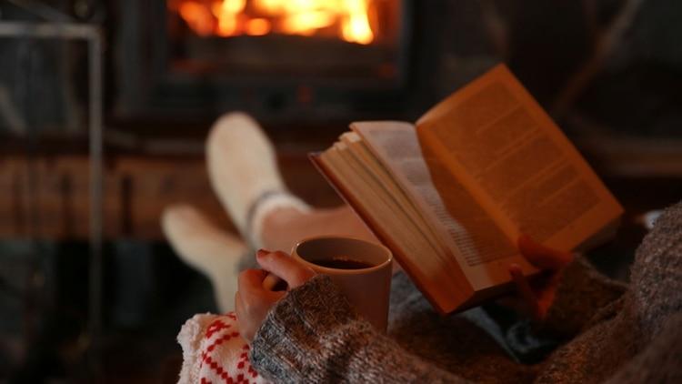 Leer un libro en vez de ver tv ayuda a inducir el sueño (Shutterstock)