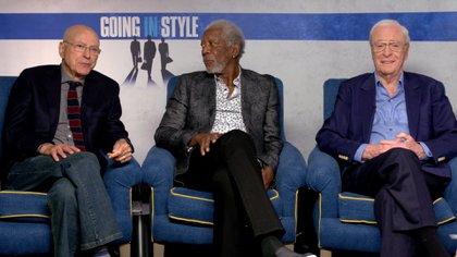 """Alan Arkin, Morgan Freeman y Michael Caine protagonistas del filme """"Going In Style"""""""