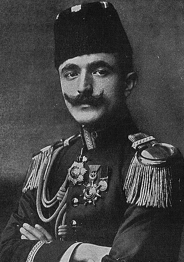 İsmail Enver, oficial otomano y líder de la Revolución de los Jóvenes Turcos (Wikipedia)