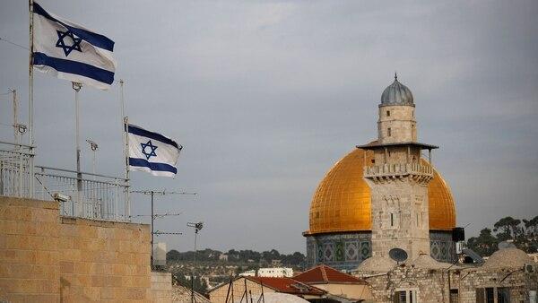 Los presidentes hablaron del proceso de paz entre palestinos es israelíes y la situación de Jerusalén (AFP)