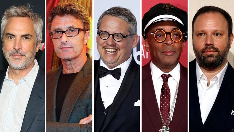 Los elegidos por la Academia de Hollywood para competir por el Oscar a mejor dirección (Reuters)