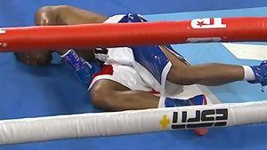 El escalofriante nocaut de una promesa del boxeo nigeriano que se postula como el mejor del año