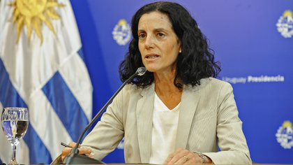 Azucena Arbeleche, ministra de Economía y Finanzas de Uruguay, (Presidencia de Uruguay)