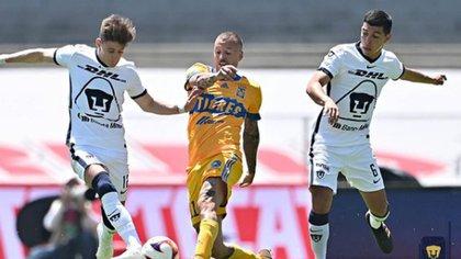 Pumas y Tigres dividieron puntos en CU: ambos siguen en zona de repechaje