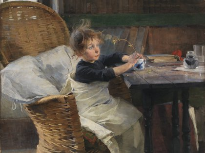 El convalenciente (1888)