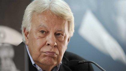 Felipe González, exjefe de Gobierno de España