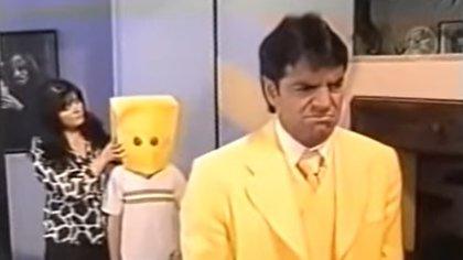 Victoria Ruffo accedió a aparecer en un sketch del programa de Eugenio Derbez donde bromearon con el asunto de que no le permitía ver a su hijo José Eduardo
