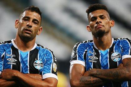 Gremio eliminó a Guaraní y se clasificó para los cuartos de final de la Copa Libertadores de América (Reuters/ Diego Vara)