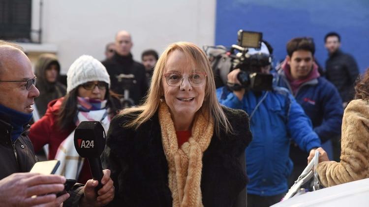 Alicia Kirchner viajó a Capital la semana pasada para respaldar a Alberto Fernández (Franco Fafasuli)