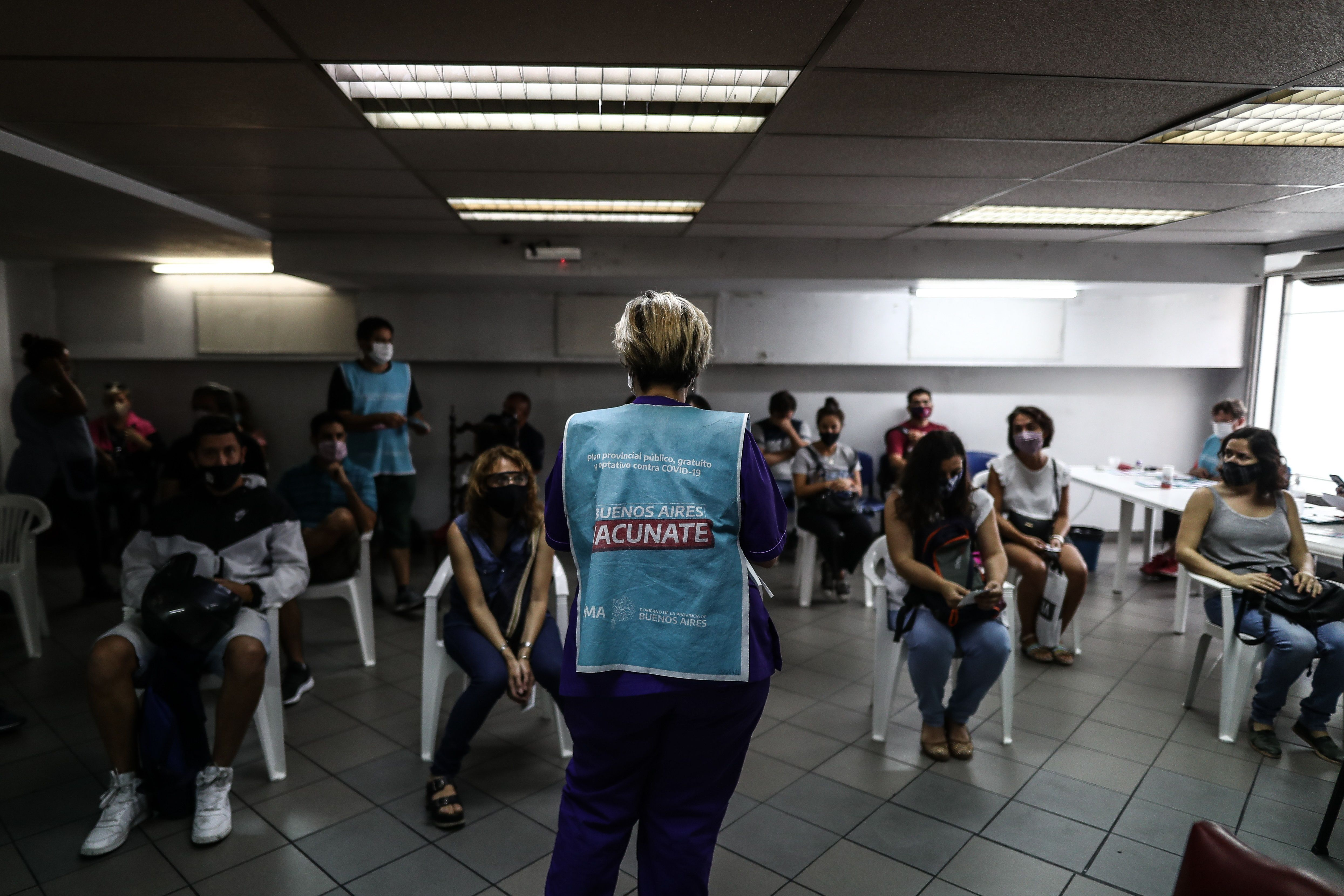 La población vacunada con una dosis asciende al 24% de la población argentina (EFE/Juan Ignacio Roncoroni/Archivo)