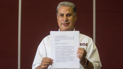 Alejandro Rojas fue sancionado por la CNHJ de Morena (Foto: Isaac Esquivel / Cuartoscuro)
