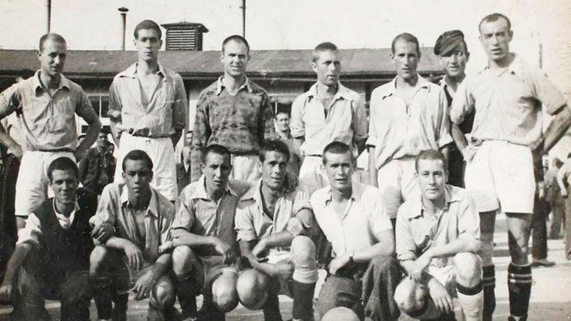 El futbolista español alcanzó estatus de jefe en la barranca de los españoles en el campo de exterminio de Mauthausen y se dedicó a organizar partidos de fútbol entre prisioneros