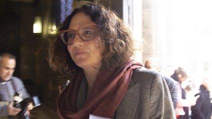 Cecilia Todesca, vicejefa de Gabinete. Foto archivo NA: DAMIAN DOPACIO