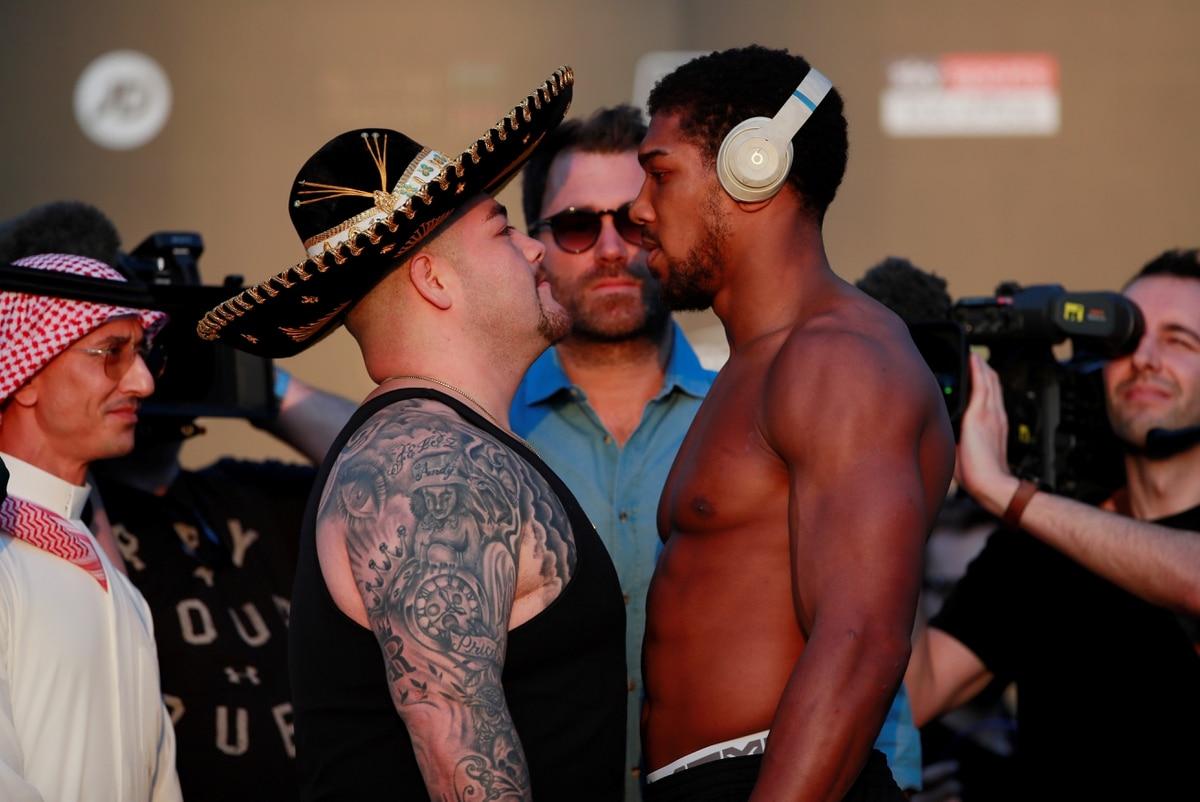 El antes y el después de los pesajes: la metamorfosis física que Andy Ruiz y Anthony Joshua mostraron con respecto a su primer combate