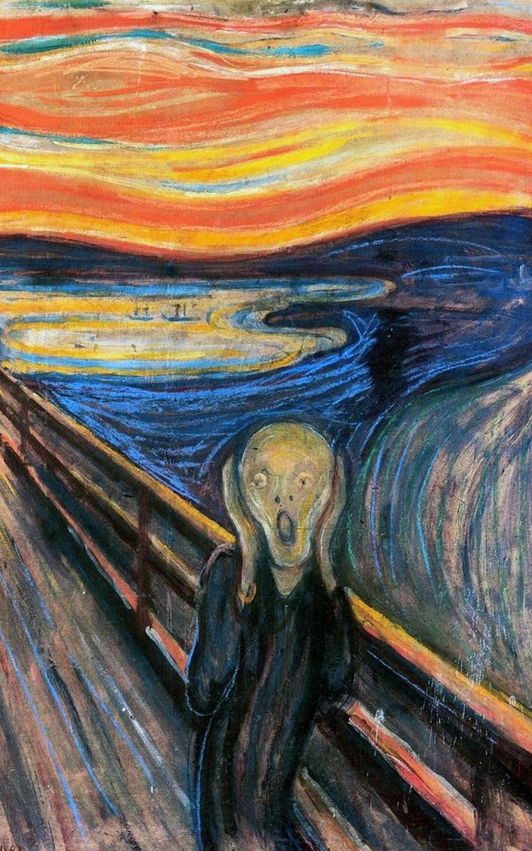 """""""El grito"""", de Munch"""