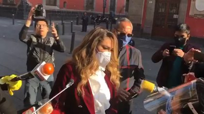 La actriz pidió ayuda al Presidente. Foto: TvyNovelas/IG.