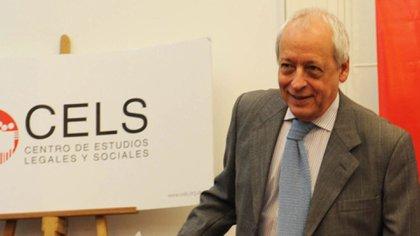 Horacio Verbitsky admitió que llamó a Ginés González García y se vacunó en el Ministerio de Salud (Télam - Juan Roleri/Télam/jcp)