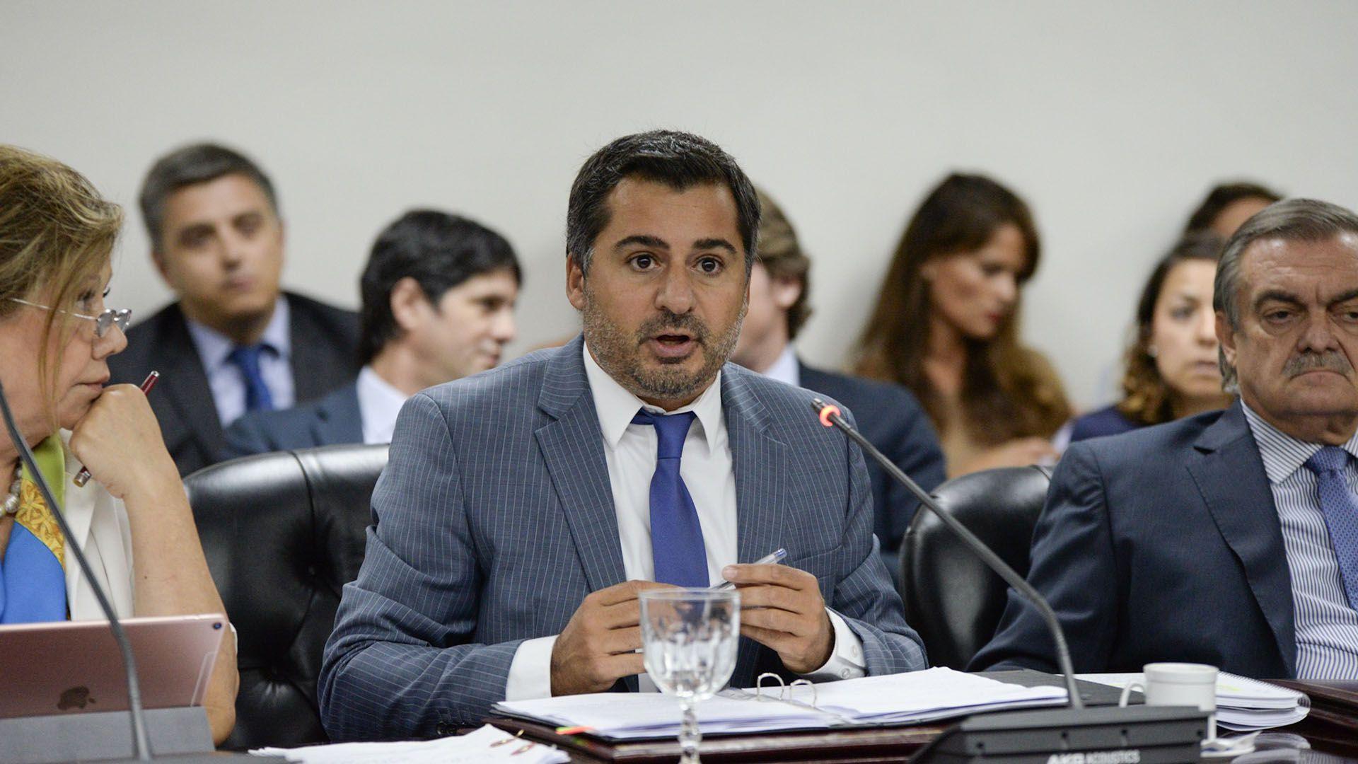 El consejero Diego Molea, nuevo presidente del Consejo de la Magistratura de la Nación (Julieta Ferrario)