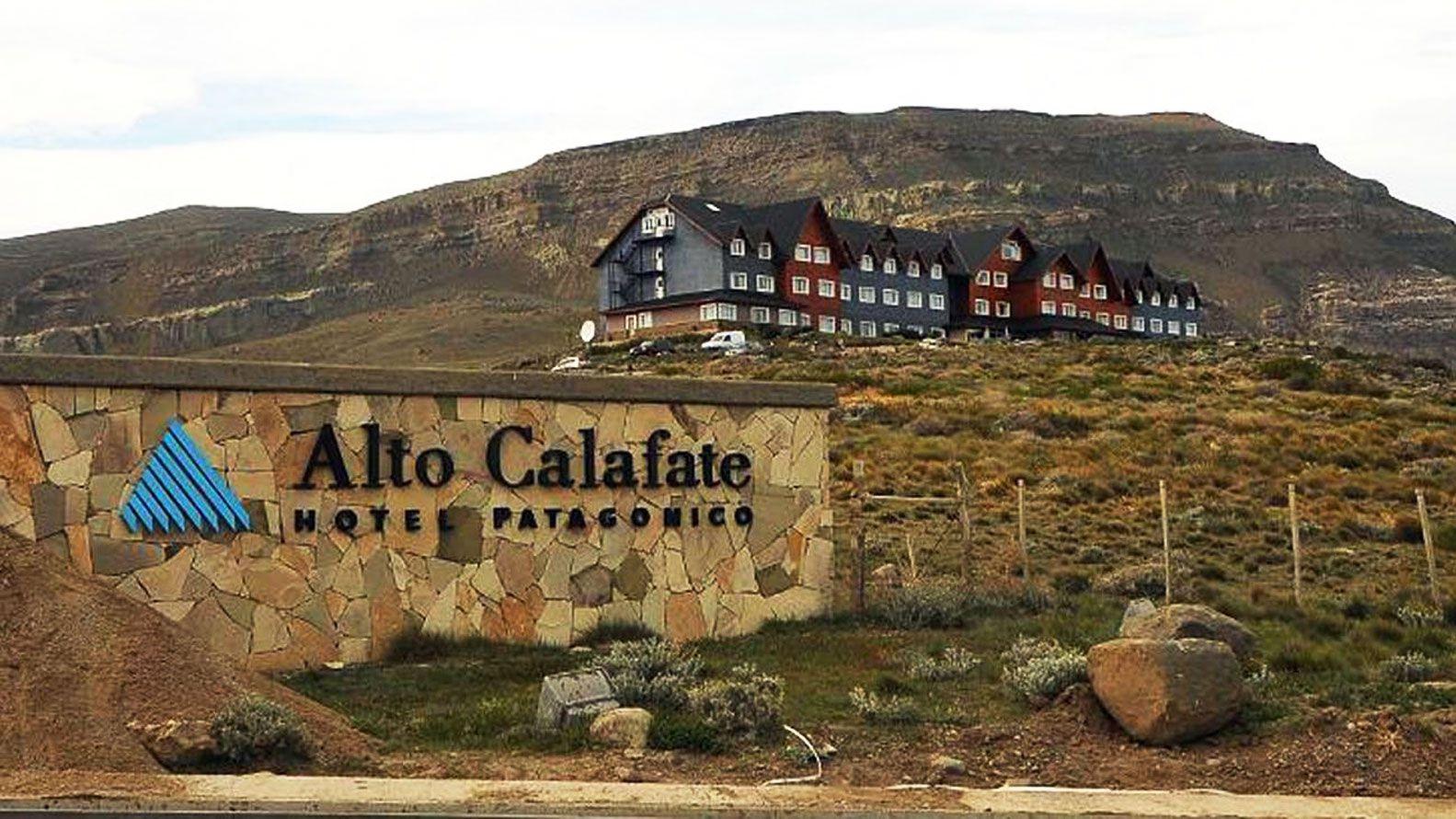 El Hotel Alto Calafate, propiedad de la empresa Hotesur (Foto de archivo)