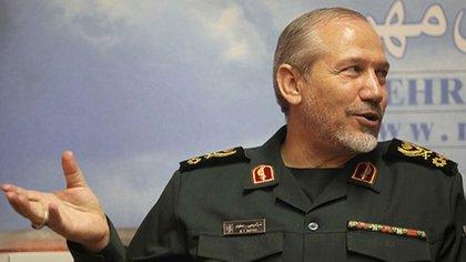 Yahya Safavi, mayor general de la Guardia Revolucionaria Islámica de Irán