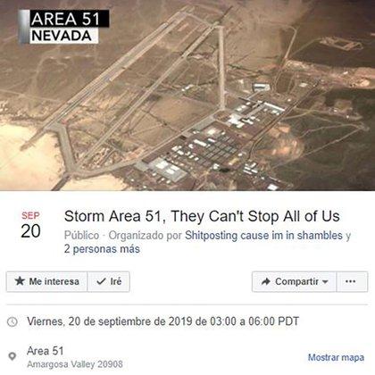 La convocatoria publicada en Facebook
