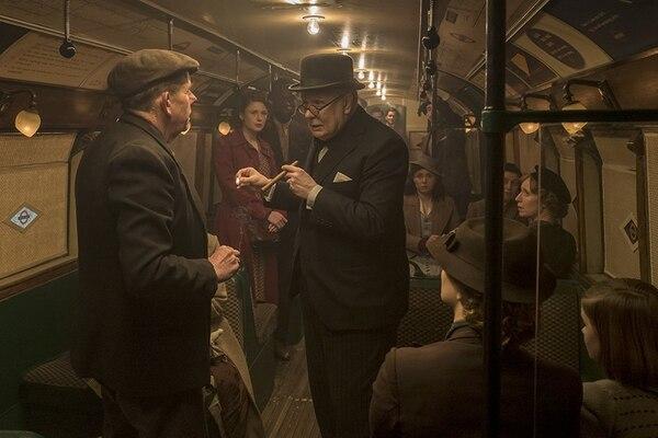 Gary Oldman empezó su entrenamiento para convertirse en Churchill una año antes del inicio del rodaje