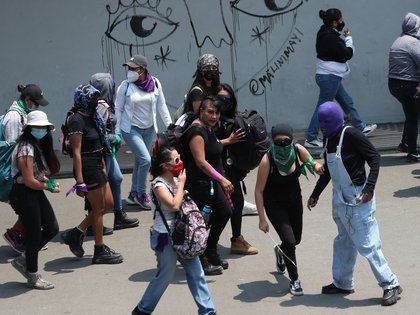 736 millones de mujeres ha sufrido al menos una vez en la vida violencia física y sexual (Foto: EFE/Mario Guzmán)