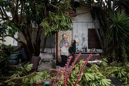 La tormenta tropical Hanna ya causó estragos en EEUU (Foto:  REUTERS/Adrees Latif )