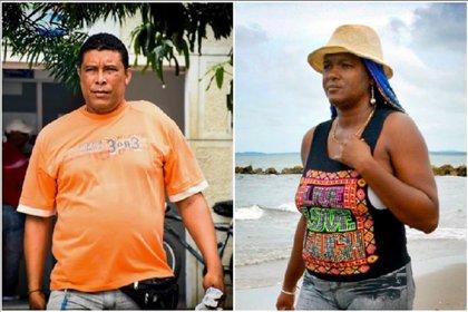 Liliana Cáceres and Alejandro today.  Photo: courtesy El Heraldo