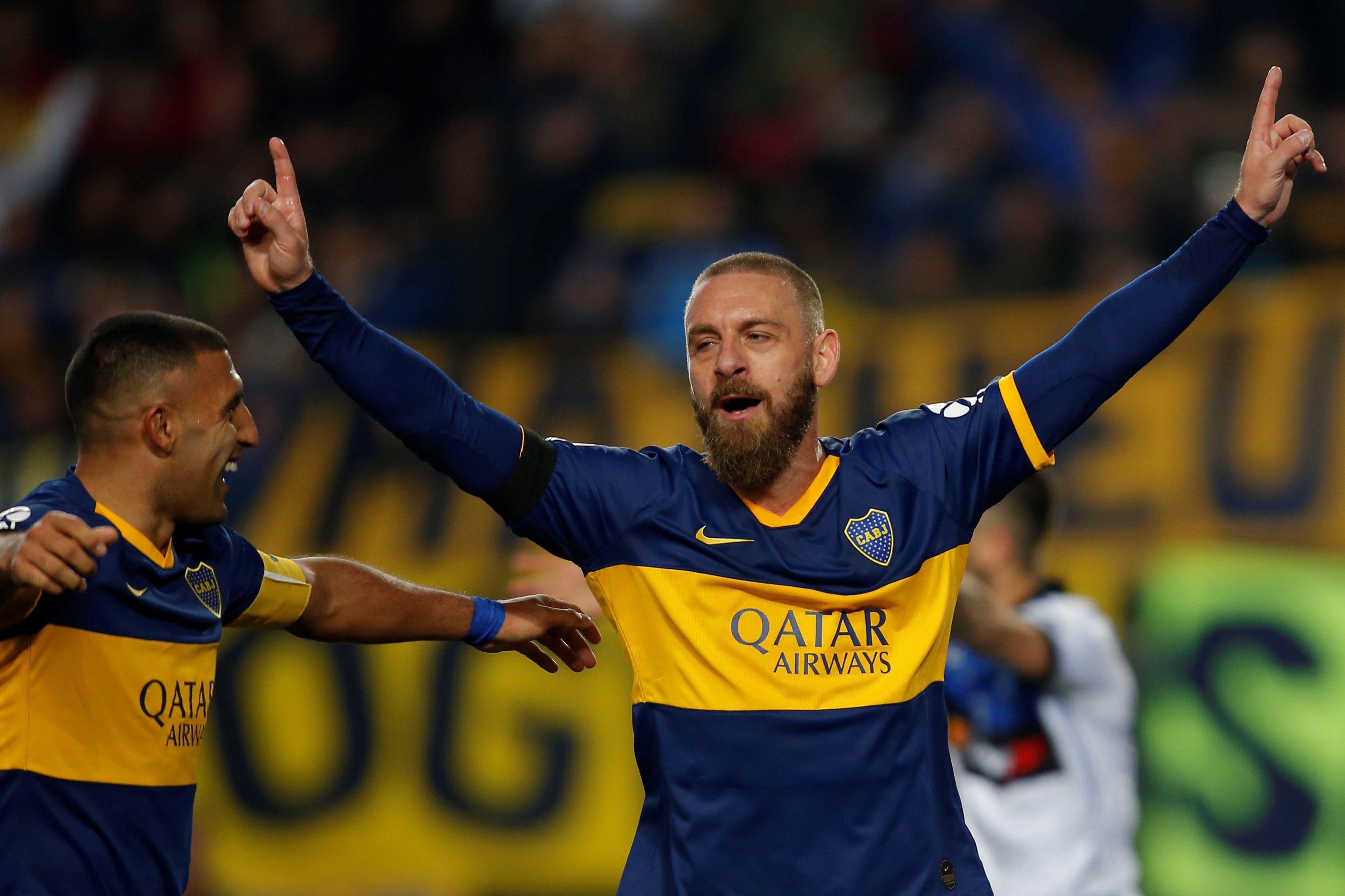 El Tano De Rossi tocó varios temas de su paso y la actualidad de Boca (EFE/Demian Alday)