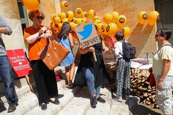 La mayoría de los manifestantes son jóvenes (Reuters)
