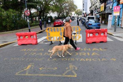 Este fin de semana se habilitarán las primeras tres áreas peatonales transitorias en la Ciudad