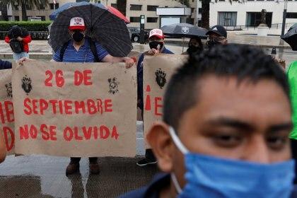 La desaparición de los estudiantes cumplirá 6 años este 26 de septiembre (Foto: REUTERS/Carlos Jasso)