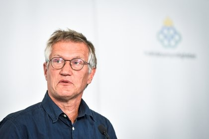 Anders Tegnell, el epidemiólogo responsable de diseñar la política sueca News Agency/Ali Lorestani via REUTERS