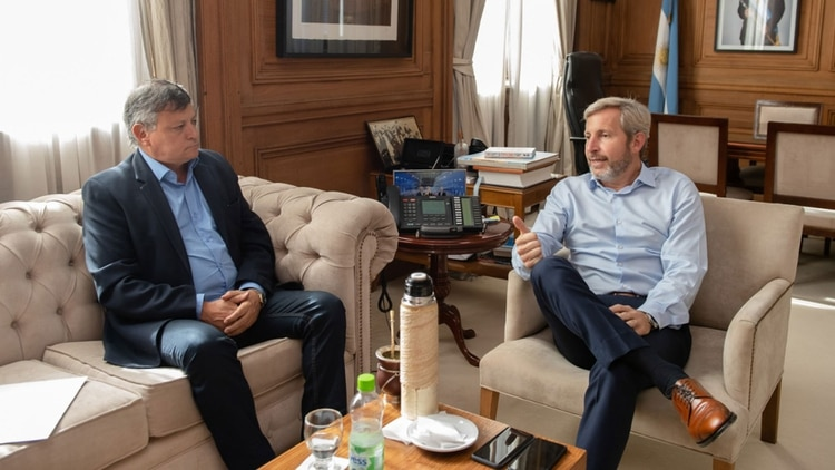 El gobernador Peppo de Chaco se reunió con el ministro Frigerio