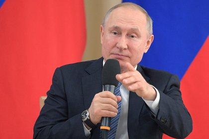 El presidente de Rusia, Vladimir Putin (EFE)