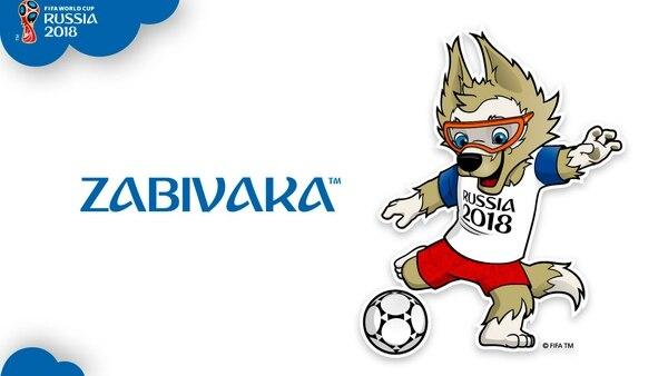 "Zabivaka, que significa ""pequeño goleador"" en ruso, es la mascota oficial del Mundial"