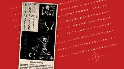 El asesino del Zodiaco mandó cartas en código, con unsignocomo firma. (The Sacramento Bee)