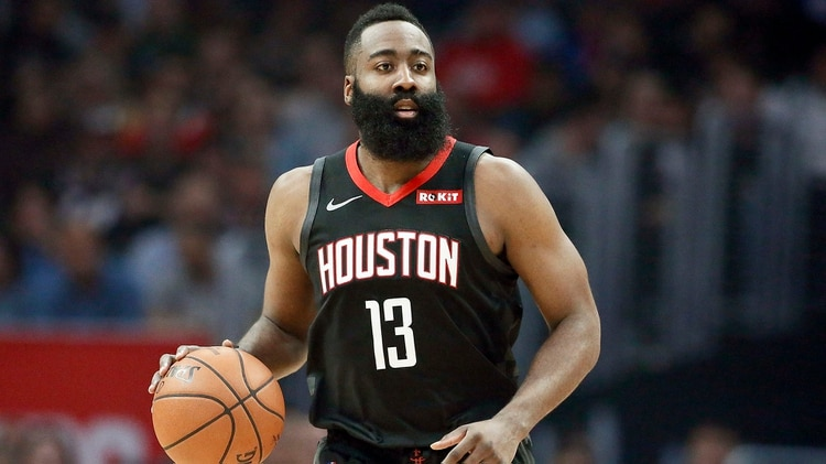 James Harden, de los Houston Rockets cierra el Top 20 (AFP)