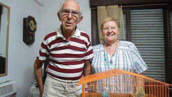 """Barreda y su pareja Berta, a quien maltrataba y llamaba """"Chochán"""""""