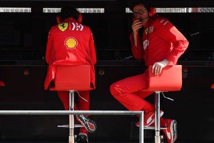 Mattia Binotto está en el ojo de la tormenta (Foto: Prensa Ferrari)
