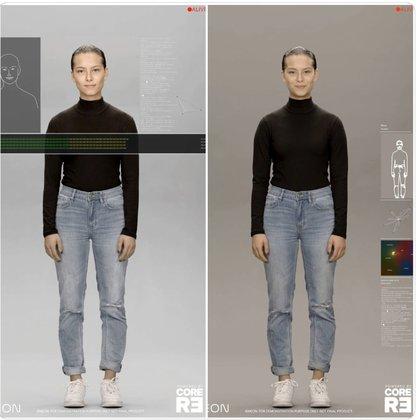 Los humanos digitales son capaces de empatizar y mostrar emociones.