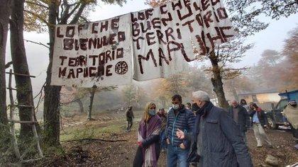 El Ministerio de Seguridad intervino en el conflicto mapuche