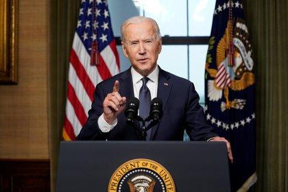 El presidente de los Estados Unidos, Joe Biden. Andrew Harnik/Pool via REUTERS