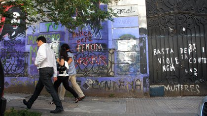 La casa del horror en La Plata. Hoy, Barreda quiere recuperarla (Télam)