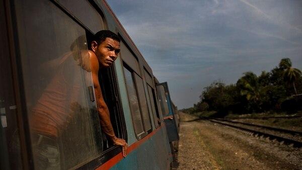 Tren cubano (AP)