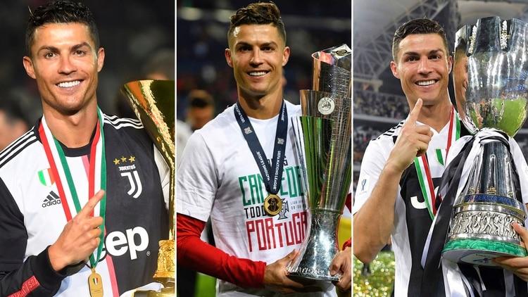 b6cfe2f7820a03 Cristiano Ronaldo ha acabado la temporada 2018/19 con más trofeos y récords  para su