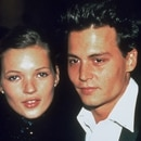 Mandatory Credit: Photo by Capital/Daily Mail/Shutterstock (863570a) Johnny Depp And Kate Moss At The Golden Globe Awards Johnny Depp And Kate Moss At The Golden Globe Awards