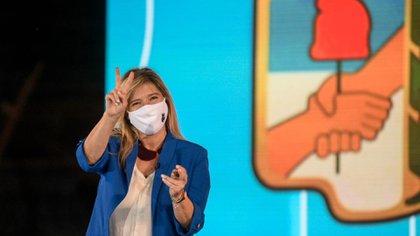 Cristina Álvarez Rodríguez, una de las vicepresidentas del PJ que quedó consagrada en la nueva conducción